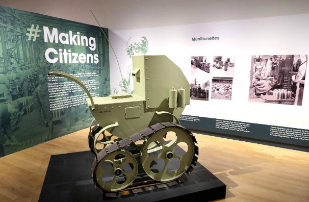Armoured Pram