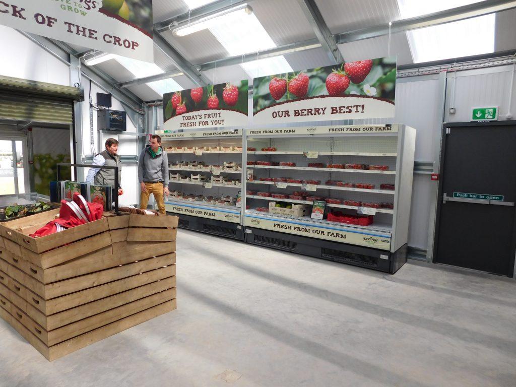 Keelings Farm Store Branding