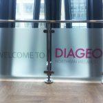 Diageo Window Branding