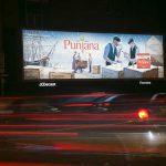 Punjana Tea Outdoor branding