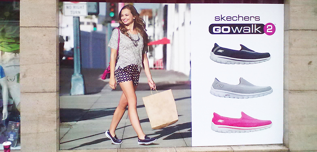 Skechers Outdoor Branding