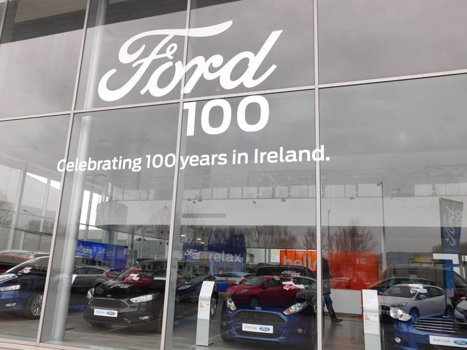 Ford 100 Branding