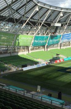 Aviva Stadium Outdoor Advertising