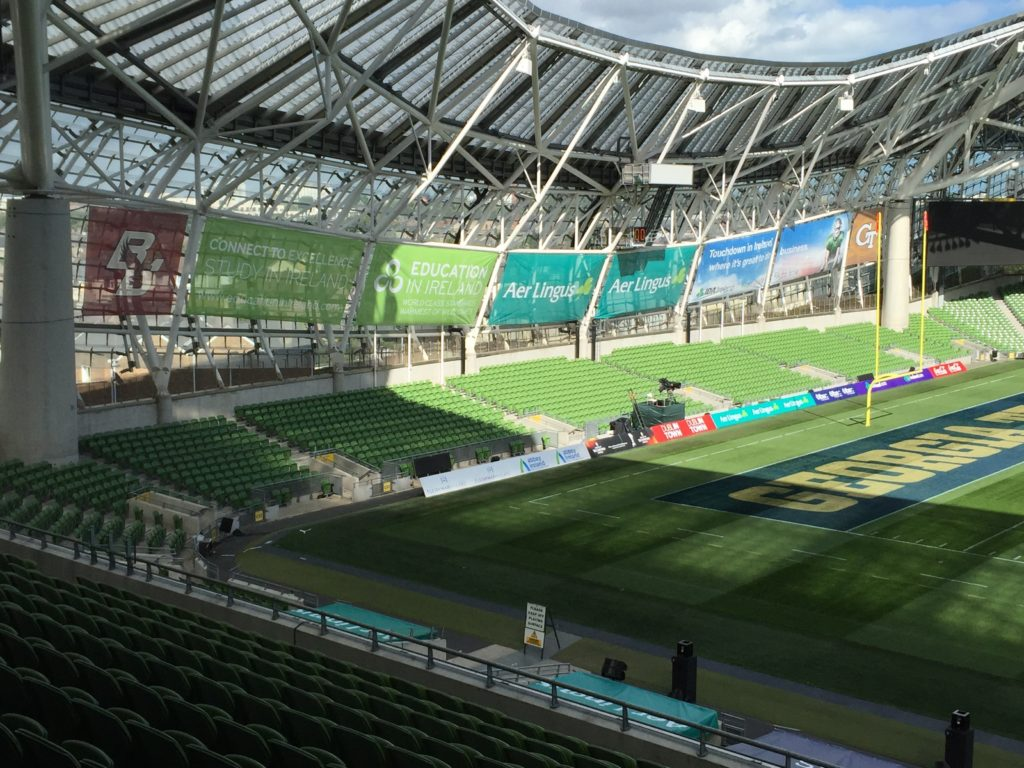 Aviva Stadium Outdoor Advertising