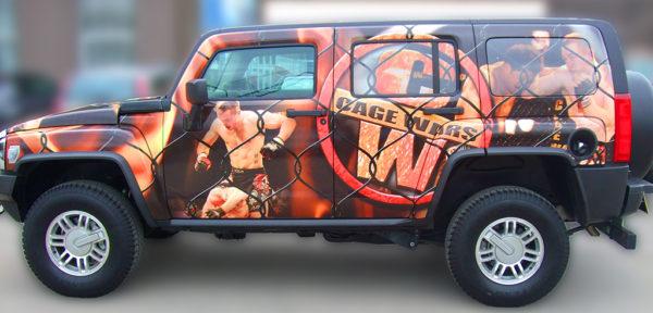 Jeep Wrap branding