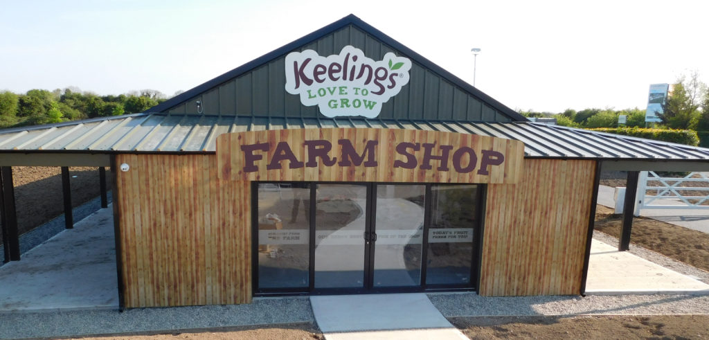 Keelings Farm Shop Branding