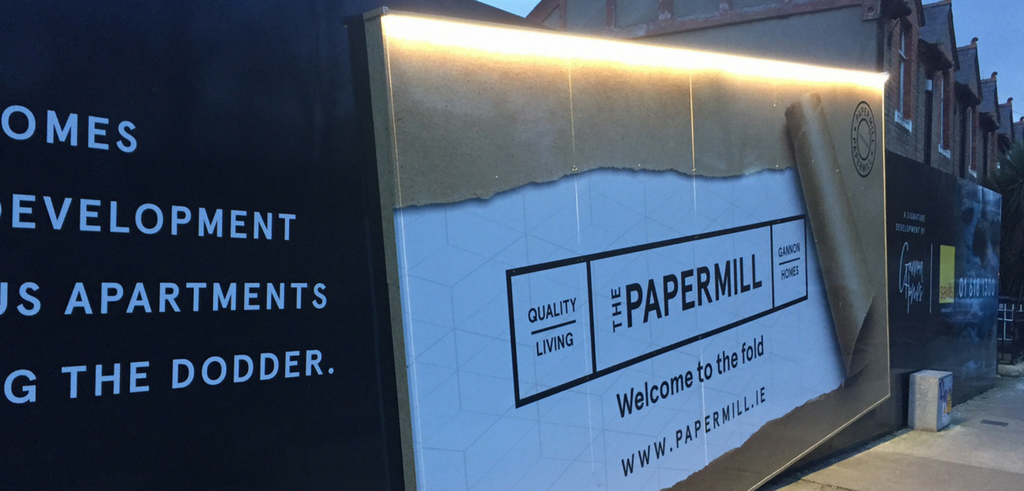 Papermill wall poster