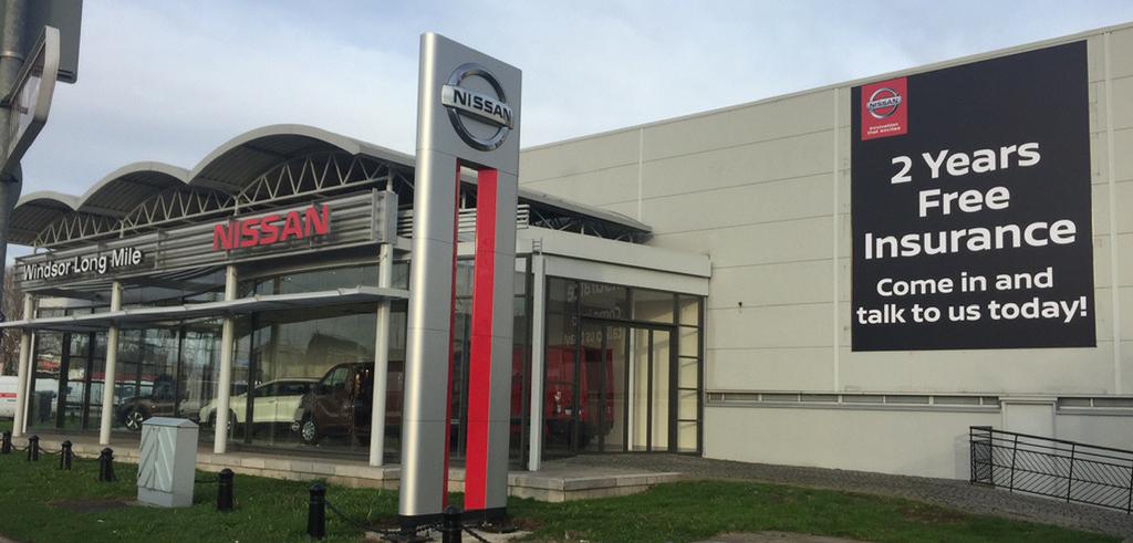 Nissan Store Branding
