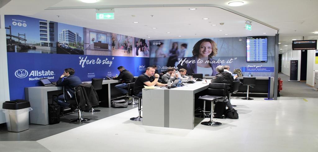 Business Hub Interior Branding