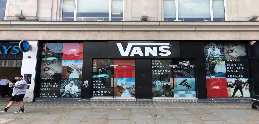 Vans Storefront