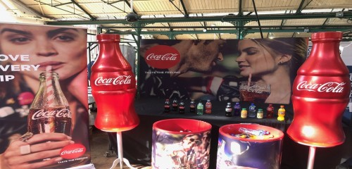 Coca Cola Event Stand Branding