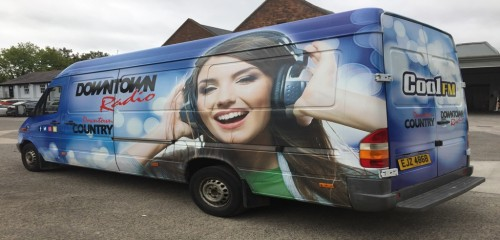 Coolfm Vehicle wrapping